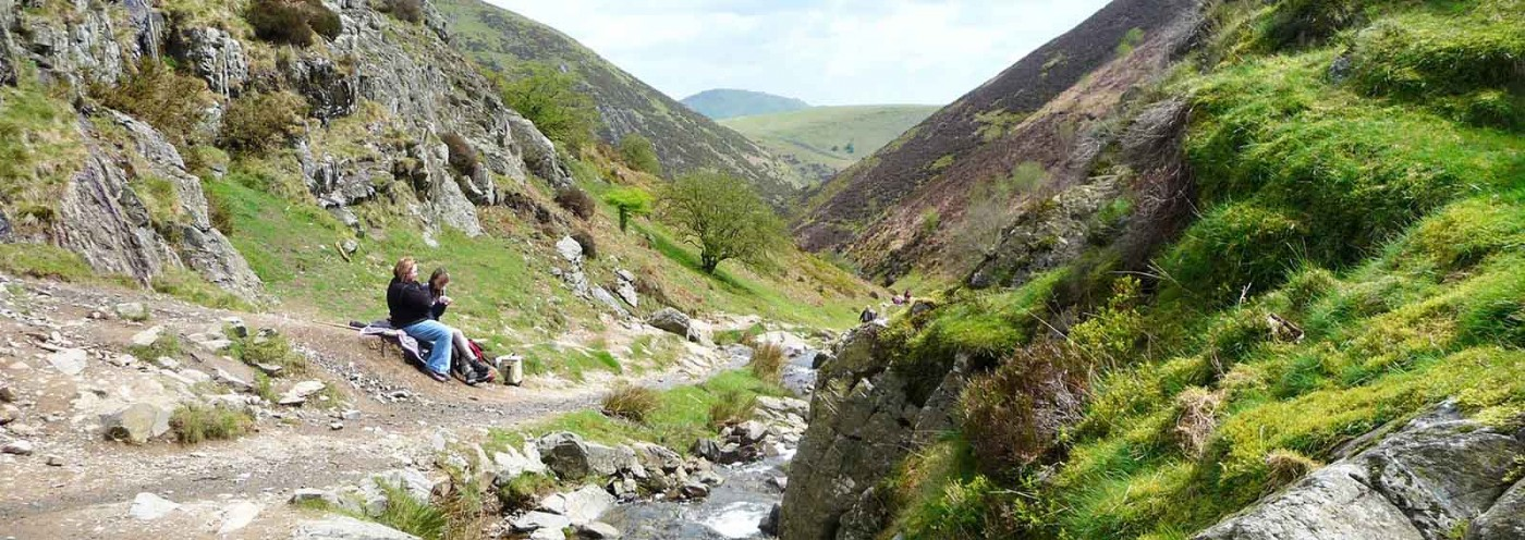 Walking in Cardingmill Valley, Shropshire Activities