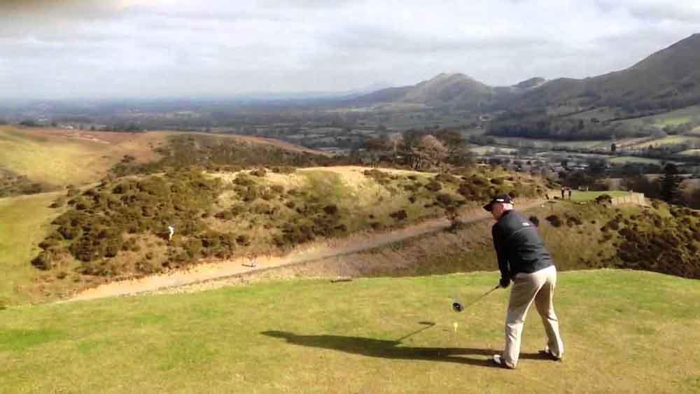 Enjoy some golf in Shropshire