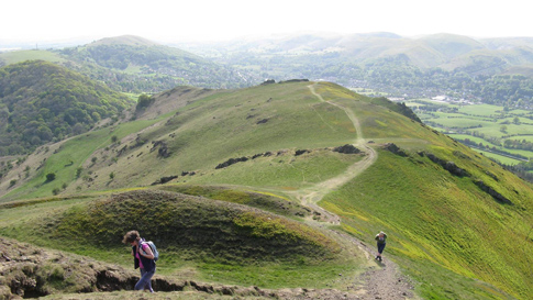 Walking in the Shropshire Hills