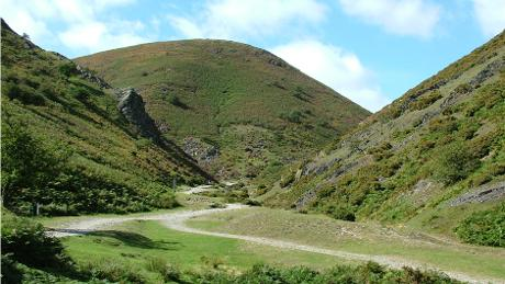 Cardingmill Valley near Bishops Castle