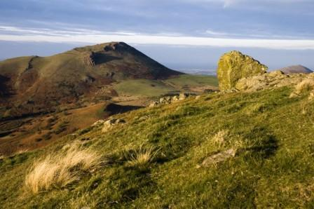 Caer Caradoc from Hope Bowdler by Geoff Cryer