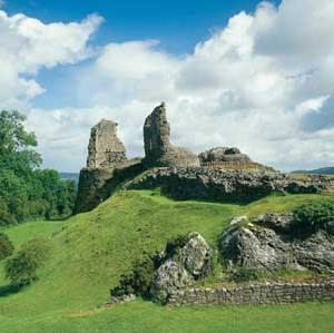 Montgomery Castle, near Bishops Castle Shropshire