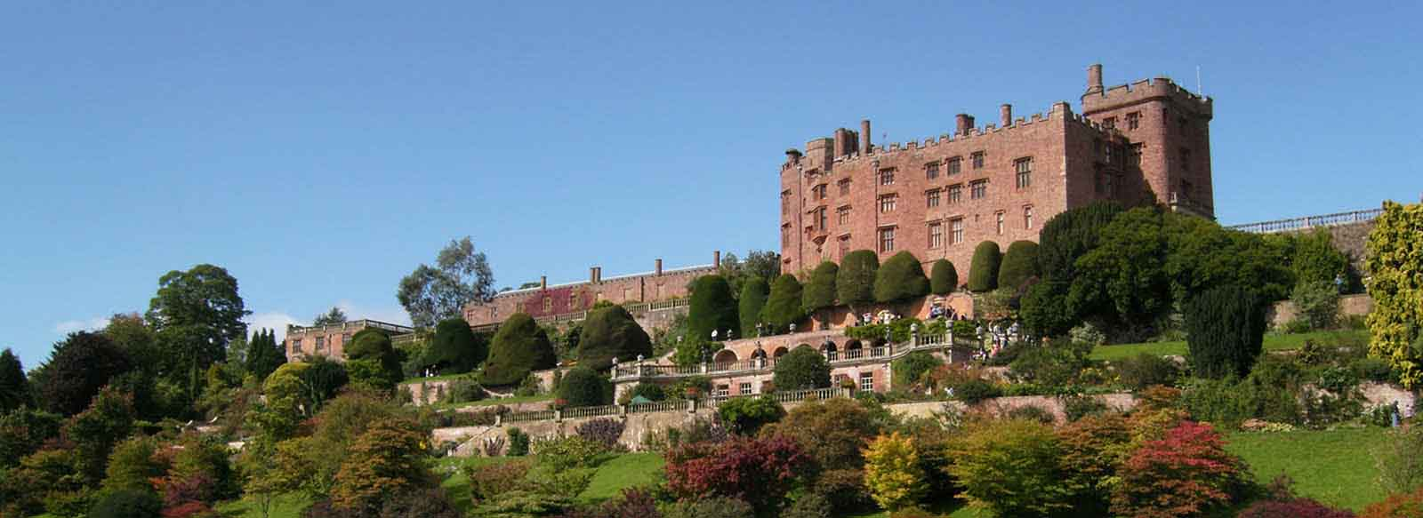 Powis Castle near Welshpool
