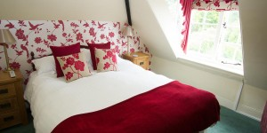 Bedroom 10 at Castle Hotel in Bishops Castle Shropshire