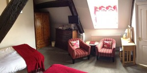Bedroom 11 at Castle Hotel in Bishops Castle Shropshire