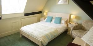 Bedroom 12 at Castle Hotel in Bishops Castle Shropshire