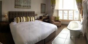 Bedroom 3 at Castle Hotel in Bishops Castle Shropshire