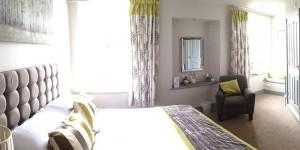 Bedroom 5 at Castle Hotel in Bishops Castle Shropshire
