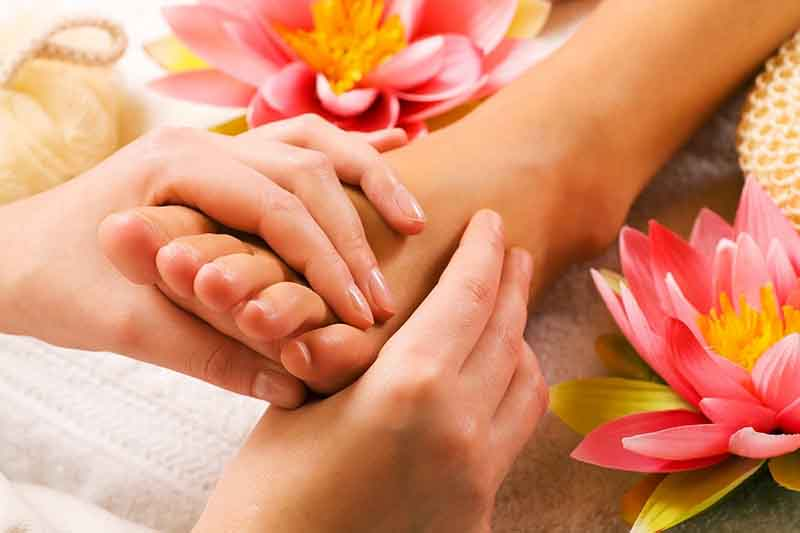 Enjoy a relaxing massage at The Castle Hotel