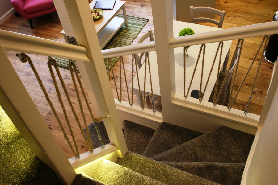 stairs in cottage