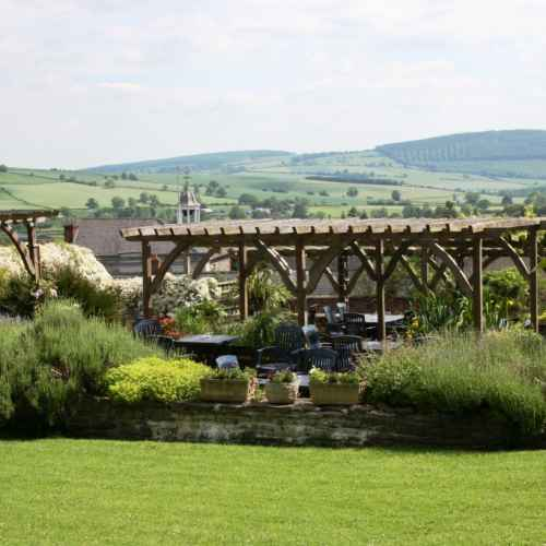 The Castle Hotel Garden Terrace View