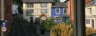self catering bishops castle view