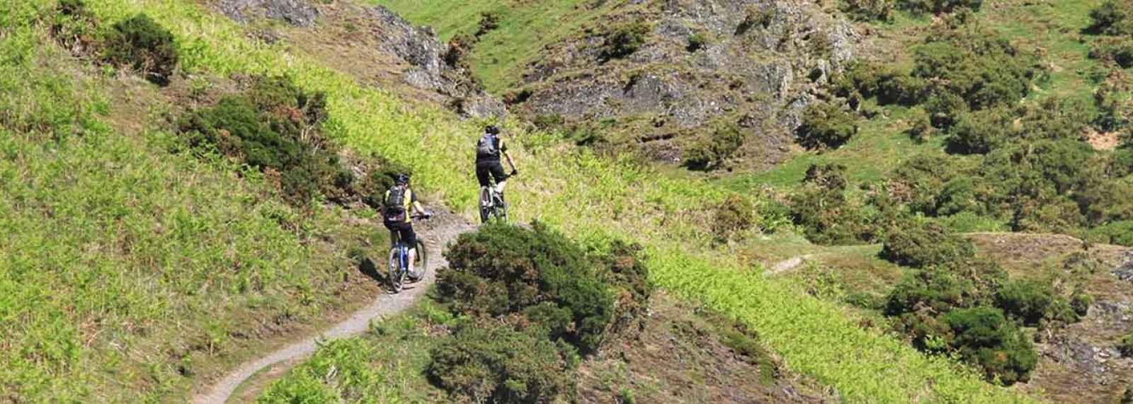 Cycling Shropshire Riding Track