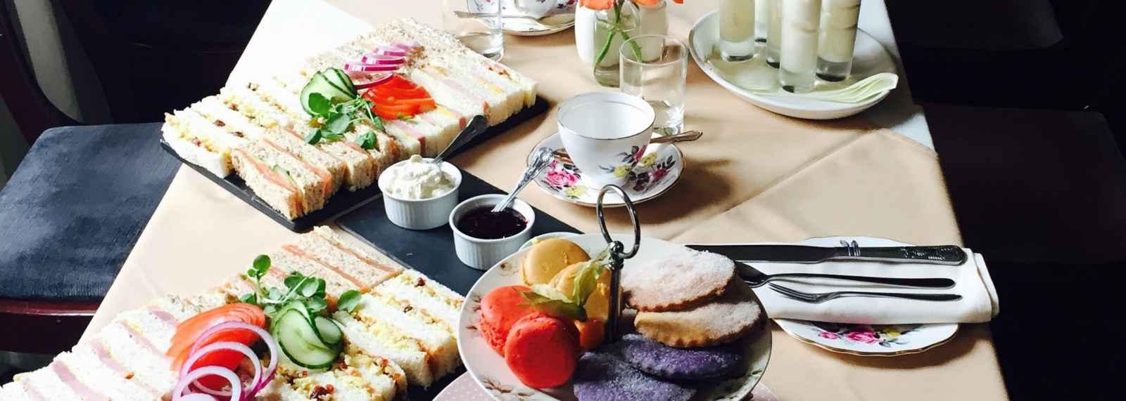 Enjoy Shropshire Afternoon Tea, Bishops Castle