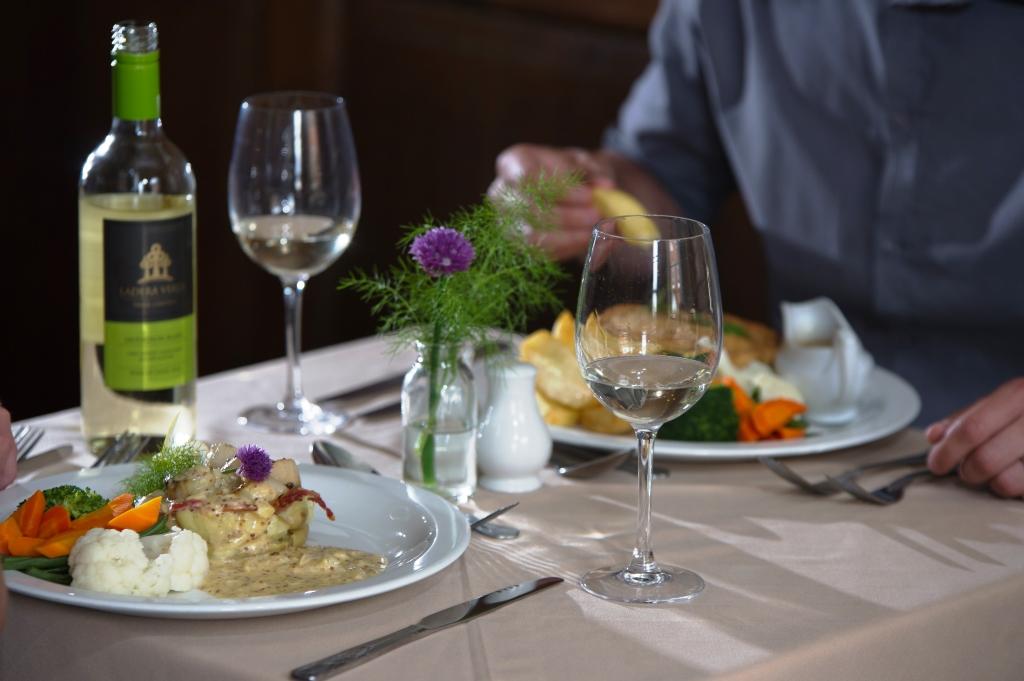 Eating in Bishops Castle, Shropshire