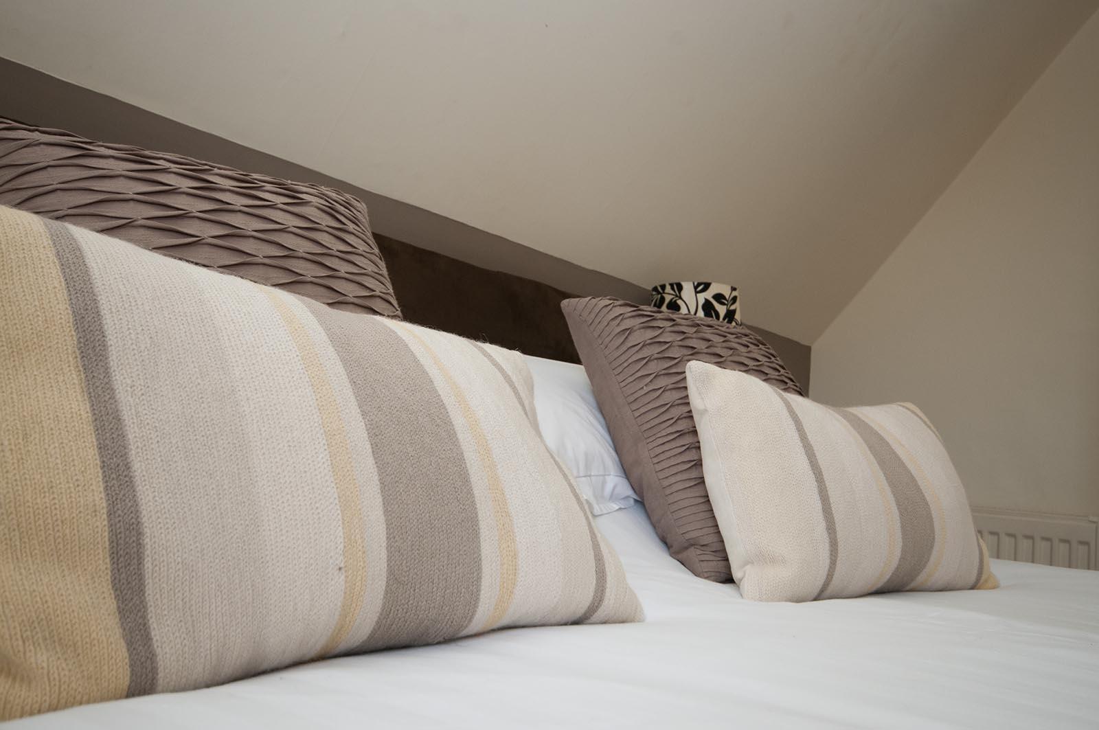 Bedroom 9 at Castle Hotel in Bishops Castle Shropshire