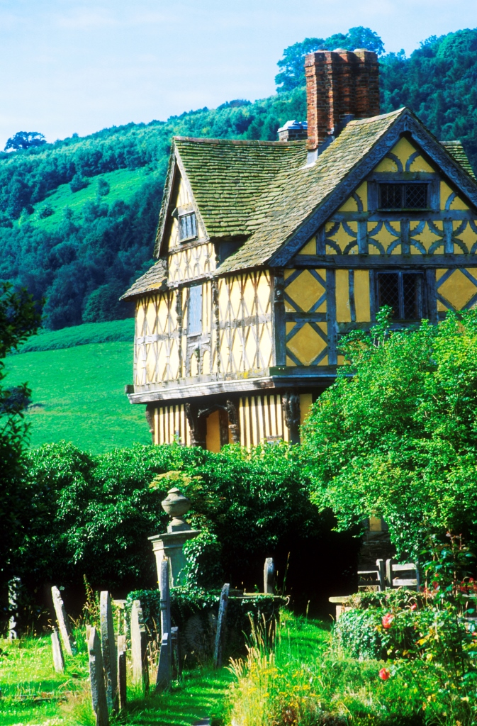 Stokesay Castle Near Bishops Castle Shropshire The