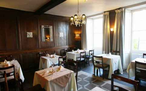 Enjoy a bite to eat at The Castle Hotel