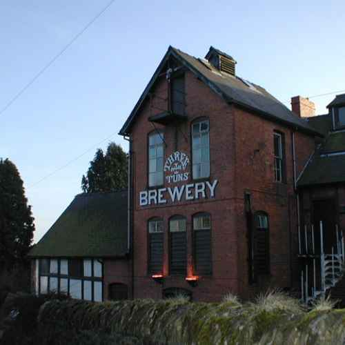 The Three Tuns Brewry in Bishops Castle