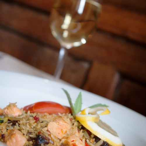 Food and Wine in Bishops Castle